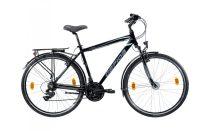 Gepida Alboin 200 férfi trekking kerékpár 52 cm Fekete