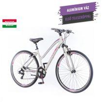 KPC Terra Lady női crosstrekking kerékpár Fehér-Lila 1280112
