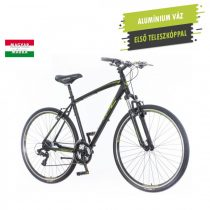 KPC Terra Man férfi crosstrekking kerékpár Fekete-Zöld 1280116