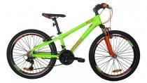 Mali Master 24 gyermek kerékpár Zöld