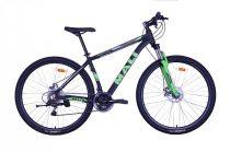 "Mali Aspis 29er 18"" kerékpár Fekete-Zöld"