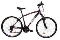 "Mali Crossover 150 férfi 21"" crosstrekking kerékpár Fekete"
