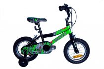 Mali T-Rex 12 gyermek kerékpár Zöld