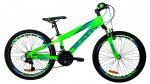Mali Challenge 24 gyermek kerékpár Zöld