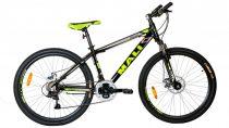 """Mali Piton 17"""" MTB kerékpár Fekete-Zöld"""