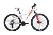Mali Angel 26 női MTB kerékpár Fehér-Narancs