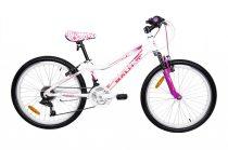 Mali Mistral 24 gyermek kerékpár Fehér