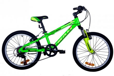 Mali Master 20 gyermek kerékpár Zöld