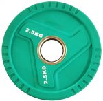 51 mm-es TPU tárcsasúly 2,5 kg