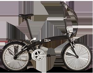 Összecsukható kerékpár többféle márka
