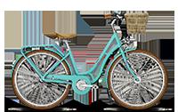 Városi kerékpár teljes komforttal