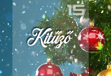 Kitűző karácsonyra
