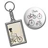 Kerékpáros kulcstartó - Ajándék minden alkalomra