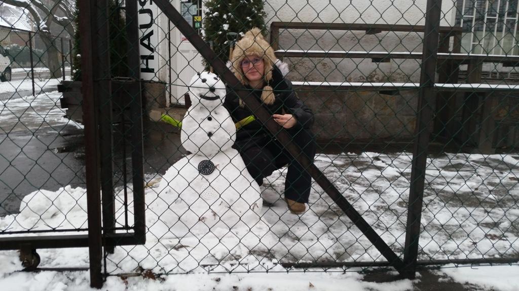 céges hóember